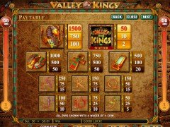 Valley of the Kings jocuri aparate aparate77.com Genesis Gaming 3/5