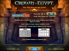 Crown Of Egypt jocuri aparate aparate77.com IGT Interactive 2/5