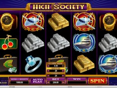High Society jocuri aparate aparate77.com Microgaming 1/5
