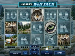 Untamed Wolf Pack - Microgaming