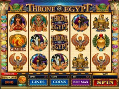 Throne Of Egypt jocuri aparate aparate77.com Microgaming 1/5