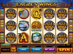 Eagles wings jocuri aparate aparate77.com Microgaming 1/5