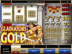 Gladiator's Gold - Microgaming
