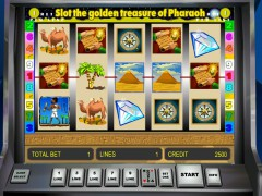 Golden Treasure of Pharaoh jocuri aparate aparate77.com Novomatic 1/5