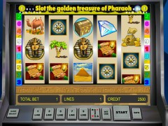 Golden Treasure of Pharaoh jocuri aparate aparate77.com Novomatic 4/5