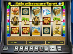 Golden Treasure of Pharaoh jocuri aparate aparate77.com Novomatic 5/5