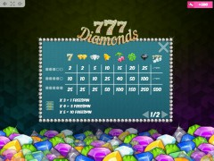 777 Diamonds jocuri aparate aparate77.com MrSlotty 5/5