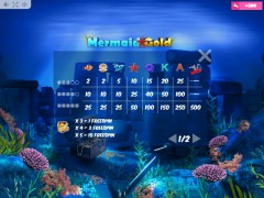 Mermaid Gold jocuri aparate aparate77.com MrSlotty 5/5