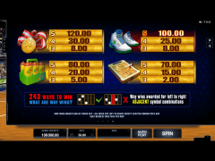 Basketball Star jocuri aparate aparate77.com Microgaming 5/5